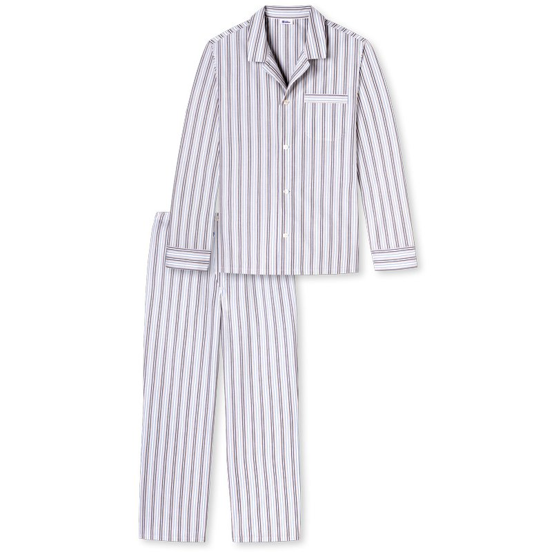 schiesser revival night loungewear pyjama lang alfred. Black Bedroom Furniture Sets. Home Design Ideas