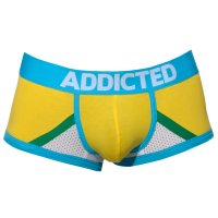 ADDICTED - Cotton Boxer with Mesh - Boxershort - Yellow