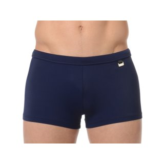 HOM - Beach Fun Marina - Swim Shorts - Kastenbadehose - navy