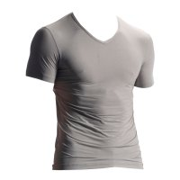 Olaf Benz RED1902 - V-Neck Shirt - silver