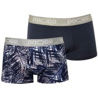 HOM Boxerline - 2er Pack Boxer Brief Bahamas - Navy Blue...