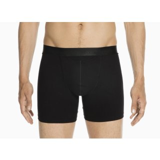 HOM HO1 - Long Boxershorts - Premium Cotton Modal - black