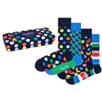 Happy Socks - Navy Socks Gift Set - Socken Geschenk-Box...